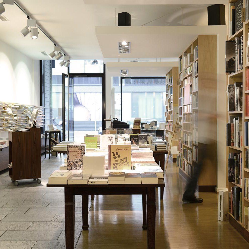 Buchhandlung Fotografie