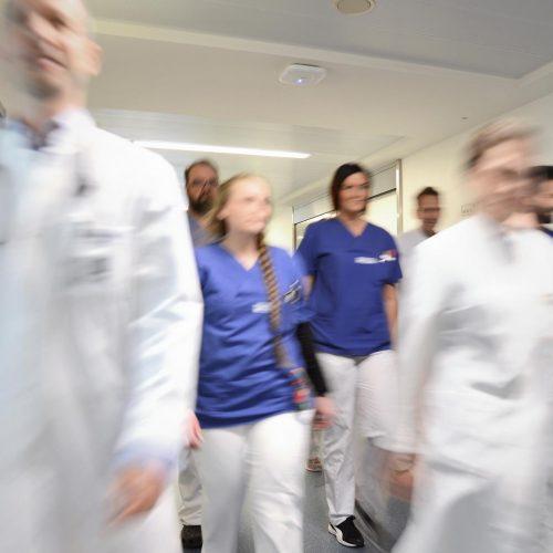 Teamfoto Krankenhaus